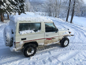 1989 Toyota Land Cruiser SUV, Crossover