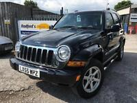 2005 Jeep Cherokee 2.8 CRD Limited Station Wagon 4x4 5dr