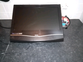 """20 """" BUSH TV with built-in dvd player"""