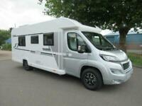 BAILEY ALLIANCE SE 762-T SILVER EDITION, 4 berth motorhome with rear single beds