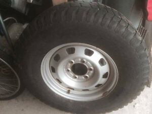 16 inch Winter Rims and tires for 2005 Cannon or Colarado 4x4