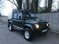 2002 52 Land Rover Defender 110 2.5 TD5 Double Cab Pick Up 4x4 STUNNING p/x