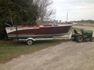 1960 Lundy Wood Boat