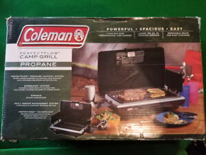 Coleman perfectflow camp grill