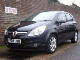 Vauxhall/Opel Corsa 1.4i 16v Automatic Design 2008(08) 5 Door Hatchback