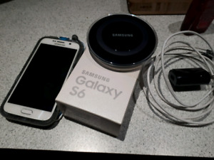 Samsung Galaxy S6 64gb white - locked with Rogers
