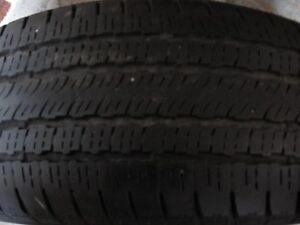4- p235/60r17  Firestone  a/s  tires (  60% thread )
