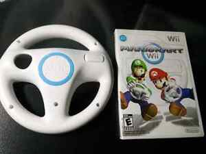 Wii System complete in box + Wii Sports , Mario Kart W/ wheel. Kitchener / Waterloo Kitchener Area image 3