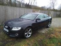 2007 AUDI A5 3.0 TDI QUATTRO SPORT BLACK MANUAL - SAT NAV LEATHER 10 SERVICES