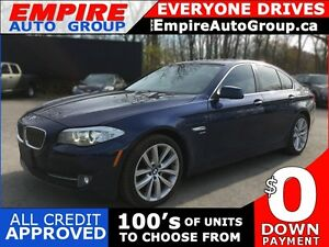2012 BMW 5 SERIES 535I XDRIVE * AWD * LEATHER * SUNROOF * NAV *