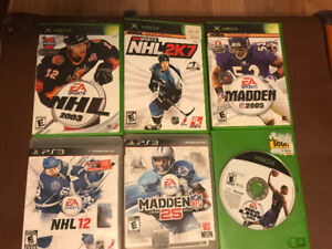 Xbox & PS3 Sports Games for Sale