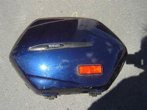 VICTORY TOP BOX LUGGAGE SADDLE BAGS YAM FJR 1300  SIDE  BAG BLUE