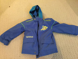Buzz Lightyear 2-in-1 jacket and hoodie, size 3T