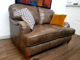 Next Howard style 2 seater leather sofa RRP £1400