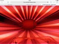 red light collagen tubes