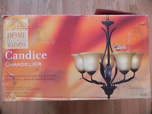 """Home Collection 23"""" Chandelier"""