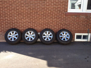 Bridgestone Blizzak on Jeep rims