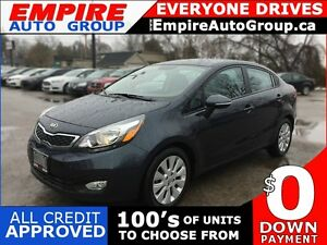2015 KIA RIO EX * REAR CAM * BLUETOOTH * PREMIUM CLOTH SEATING