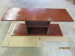 Coffee Table, Desk Chair, Wood Dresser, Double Bed & Box Spring