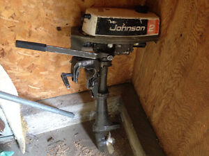 2 hp Johnson outboard motor $350 firm