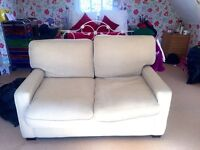 2 SEATER SOFA - HARDLY BEEN USED