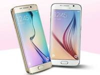 Samsung Galaxy S6 Edge White and Gold for sale
