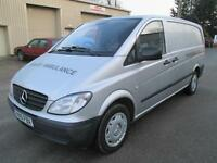 2010 Mercedes Benz vito 109 CDI long sld x2 pas 1 owner 6 sp