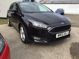 SOLD Ford Focus 1.6TDCi ( 115ps ) ( s/s ) 2015.25MY Zetec