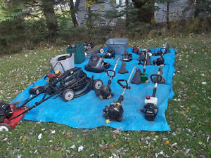 Used lawn equipment -MUST BE WILLING TO TAKE ALL OF IT