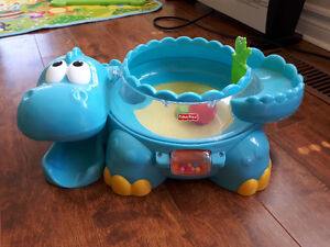 Fisher price alligator ball popping toy