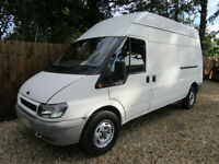 Ford Transit 2.4TDI ( 90PS ) 2004.75MY 330 LWB..0NLY 65000 MILES FULL HISTORY