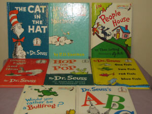 FOR SALE HARDCOVER DR SEUSS BOOKS