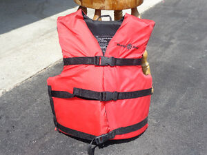 Buoy/Boy Junior to Adult Life Preserver Great Condition!