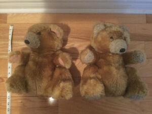 """Teddy-2-Cute"" - Santa and Mrs. Claus ($25 OBO)"