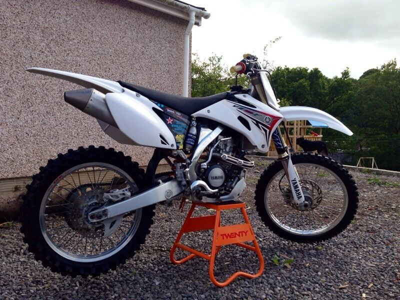 Yamaha YZF 250 White Edition 2008 YZ250F | in Powys | Gumtree