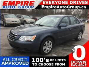 2010 HYUNDAI SONATA POWER GROUP * PREMIUM CLOTH SEATING * LOW KM