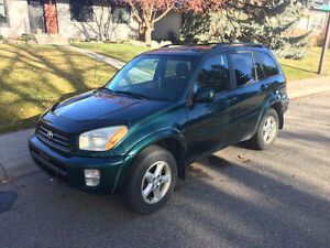 2001 Toyota RAV4 Limited Edition