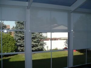 Hunter Douglas screen shade