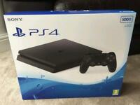 PS4 Playstation 4 Slim 500gb Console - Brand New Sealed