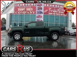 2016 GMC Canyon 2.5 L Extended Cab 4x4 Leather Seats