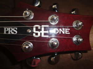 PRS SE ONE ELECTRIC GUITAR  WITH BIGSBY KOREA MINT+HSC $475