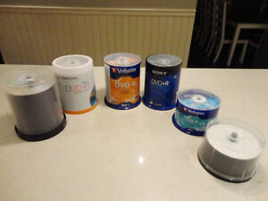 Selling A Load of DVD-R and CD-R's Spindle packs -All Brand New Kitchener / Waterloo Kitchener Area image 1