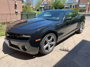 2012 Chevrolet Camaro RS package installed