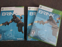 BRINK - XBox 360 Game, NEW, Plastic-Wrapped, Outer Sleev