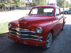 "1949 Plymouth Businessmans Coupe ""New Price"""