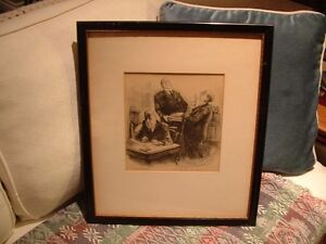 """""""Nothing but the Truth"""" Courtroom LITHO PRINT 1940s-1950s Peterborough Peterborough Area image 2"""