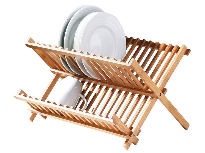 Best dish drying racks ebay for Kitchen drying rack ikea