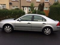Ford mondeo 2005 plate