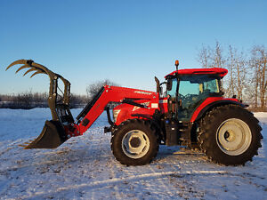 Premium used McCormick X6L.460 w/Loader & Grapple - 279 hours!