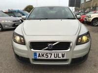 2007 Volvo C30 Sports Coupe 3Dr 2.0D 136 SE 6Spd Diesel white Manual